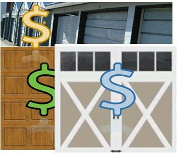 porte de garage budget